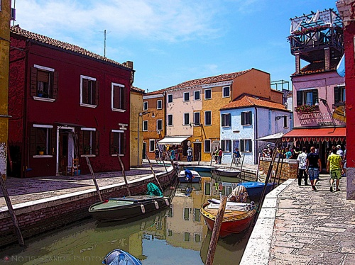 Burano main canal (I think)