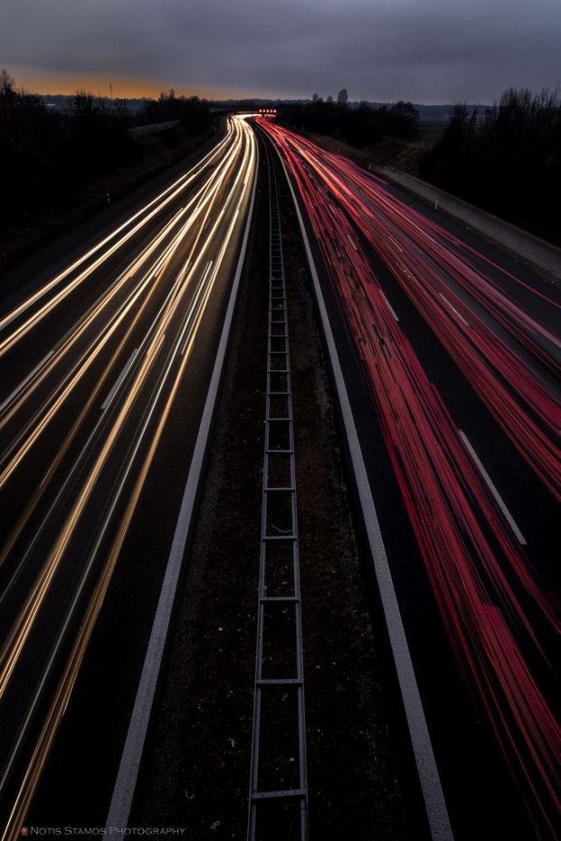 A99 West Light trails