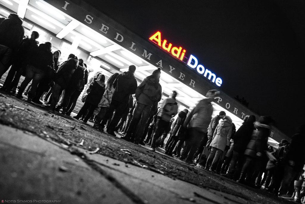 Audi dome entrance