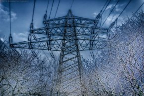High tension - fine art photography