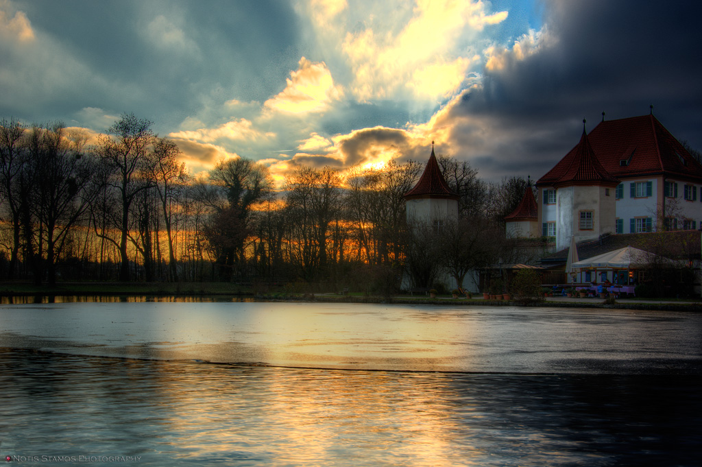 Schloss Blutenburg - Notis Stamos - Lake Sunset