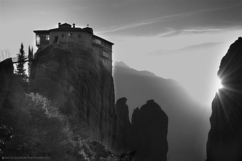 Rousanou monaster, Meteora, Trikala, Kalampaka, Greece, Notis Stamos