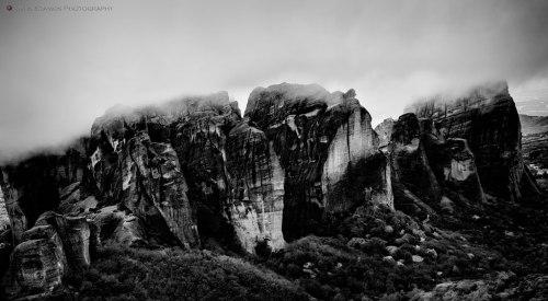 The rock pillars