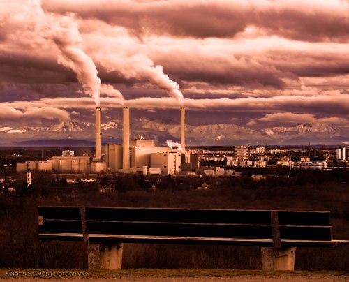 Munich, Power plant, Heizkraftwerk Nord, München, Notis Stamos