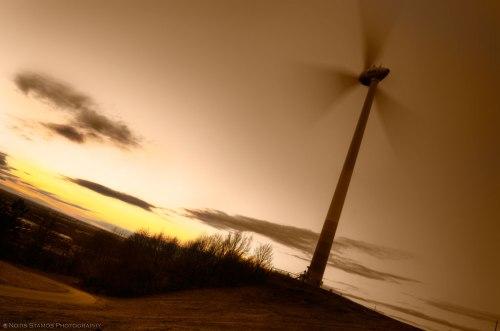 Wind turbine Fröttmaning, Notis Stamos, Munich