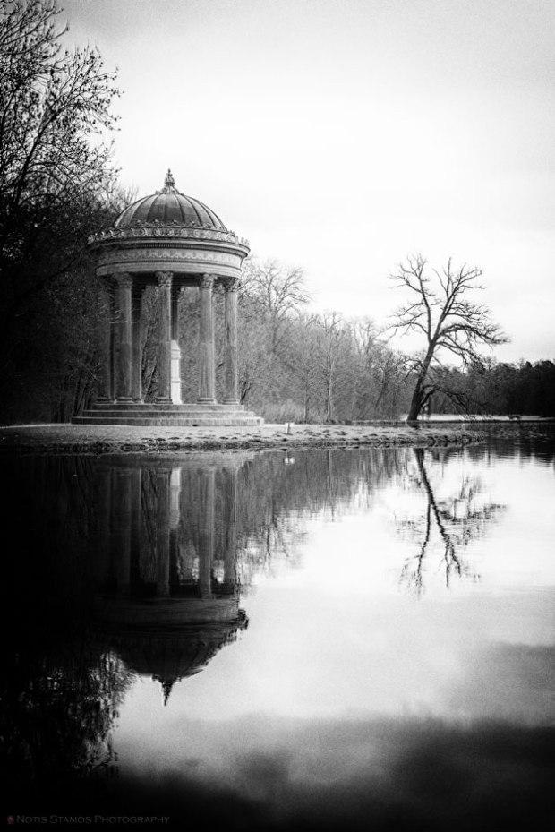 Monopteros, Apollo temple, Nymphenburg, Munich, Notis Stamos