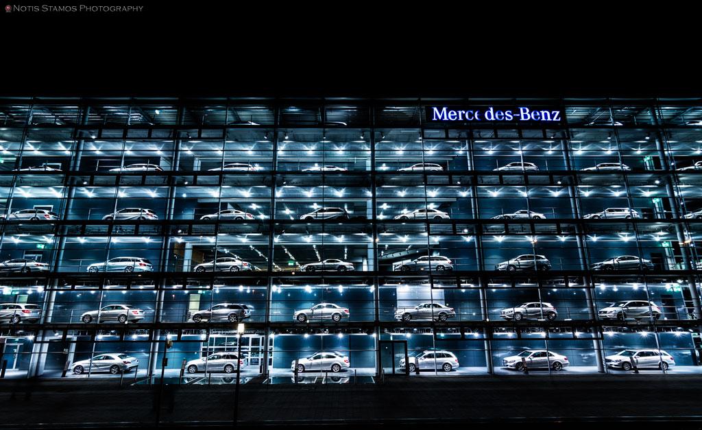 Daimler Benz, Mercedes, Munich, Window, Cars, Notis Stamos
