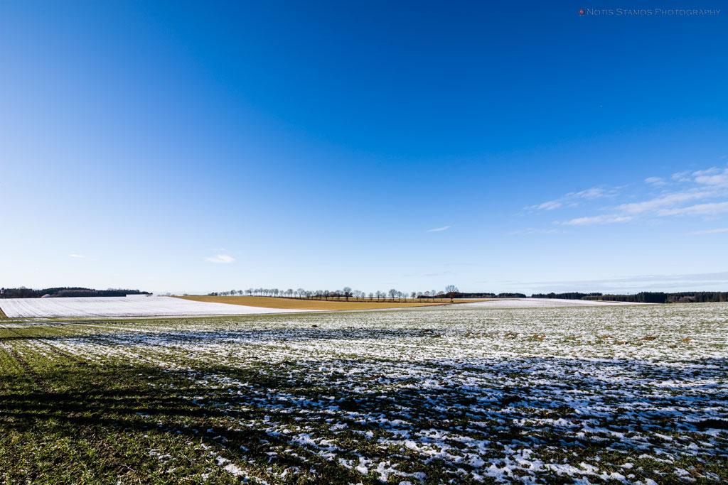 Winter, clear day, Notis Stamos