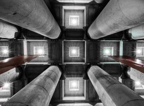 Glyptotech, Munich, Pillars, Notis Stamos