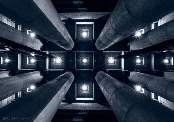 Pillars, Glyptotech, Munich, Notis Stamos