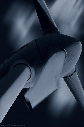 Wind turbine, Notis Stamos, Munich