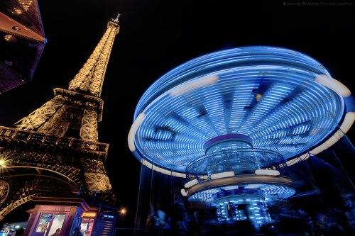 Carousel, Eiffel Tower, Paris, Notis Stamos