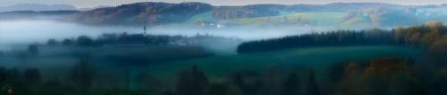 Bayern, Dawn, Fog, Notis Stamos, Alps