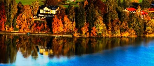 Schliersee in the autumn.