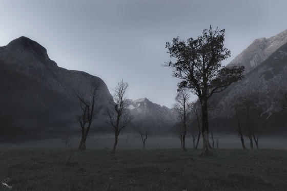 Eng Alm, Notis Stamos, Sunrise, Dawn, Mountains, Trees