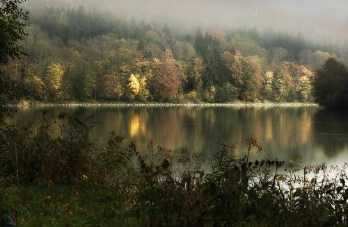 Inn River, Wasserburg, Bayern, Notis Stamos