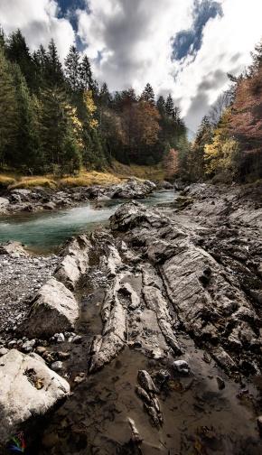 River, landscape, Photography, NotisStamos, Rißbach