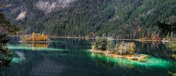 Eibsee, Garmisch Partenkirchen, Zugspitze, Notis Stamos