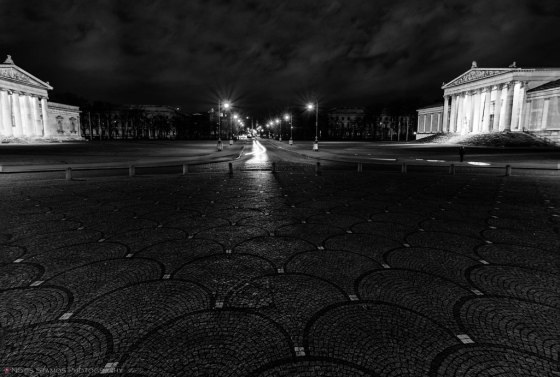Koenigsplatz, Munich, Notis Stamos