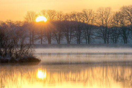 Sunrise, Lake, Ebersberg, Notis Stamos