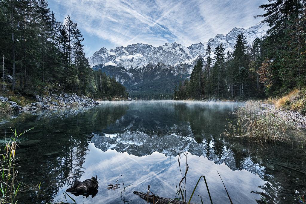 Eibsee, Lake, Zugspitze, Notis Stamos