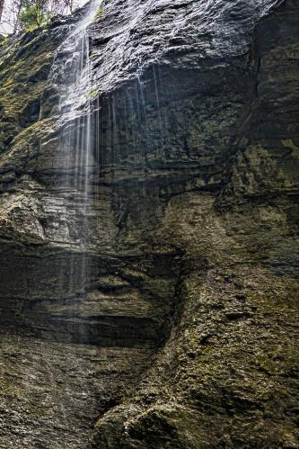 Water fall, Notis Stamos, Partnachklamm