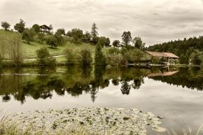Bavaria, Tegernsee, Farm, Reflection, Notis Stamos