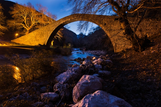 Arch bridge, Pili, Trikala, Notis Stamos