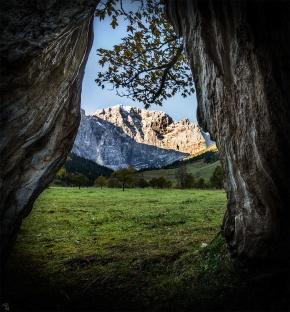 Eng Alm, Mountains, Tree, Notis Stamos