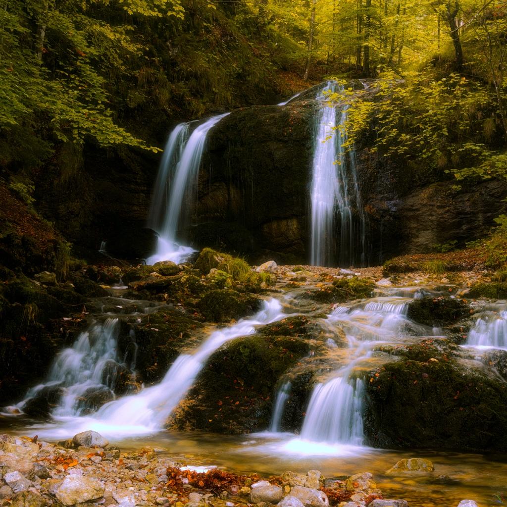 Josefstaler Wasserfälle Notis Stamos