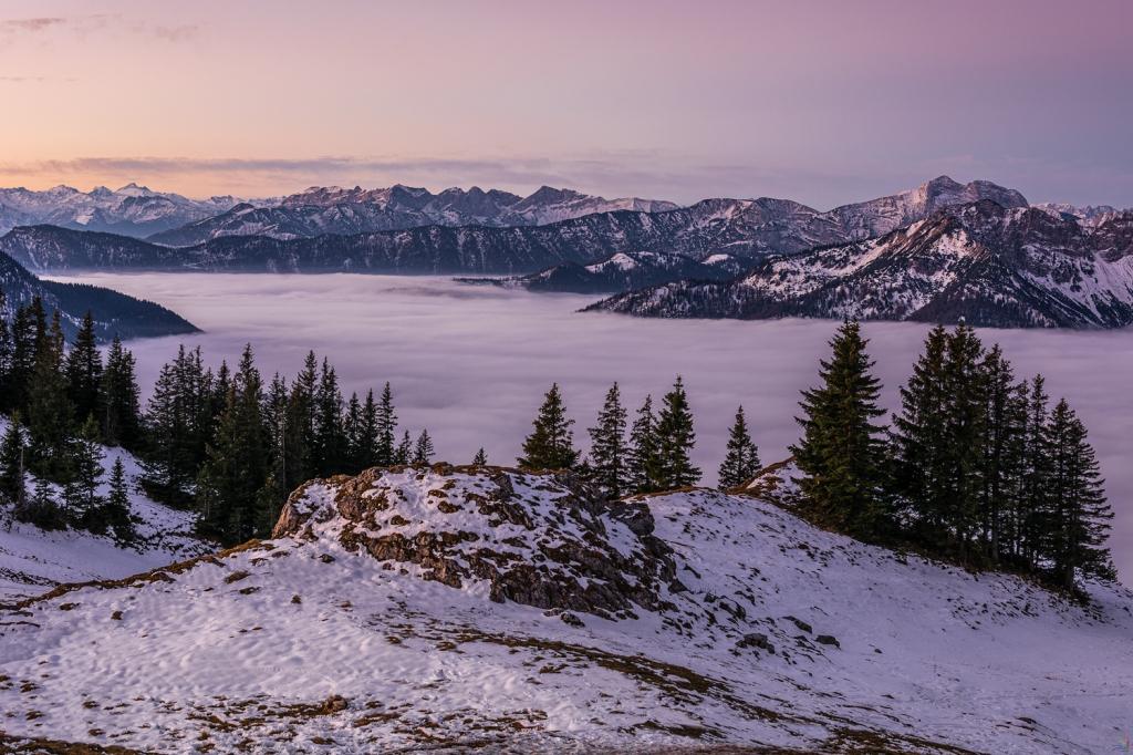 Sea of mist lake of clouds Notis Stamos Rotwandhaus